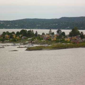 Ausfahrt Oslofjord
