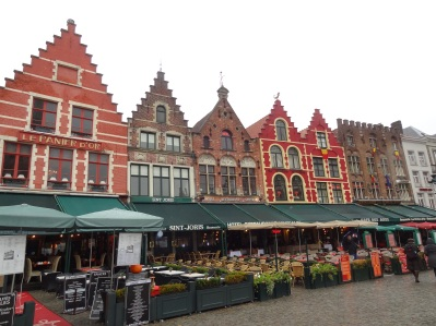 Brügge - Markthäuser