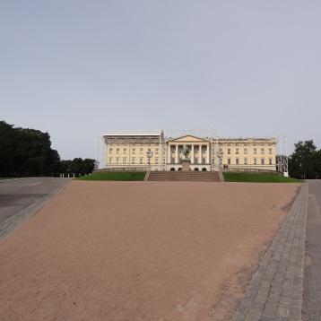 Königliches Schloss in Oslo