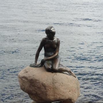 Kopenhagen - Kleine Meerjungfrau