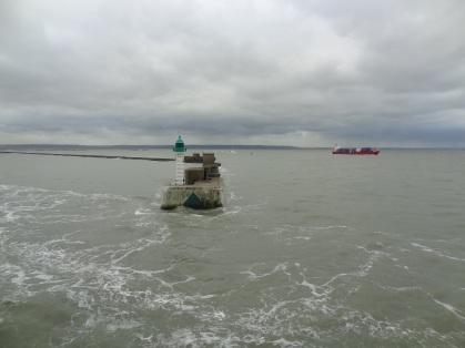 Le Havre - Einlaufen