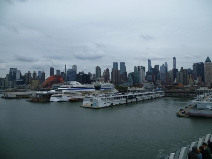 New York - Auslaufen