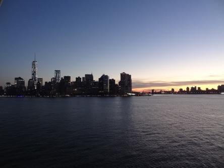 New York - Sonnenaufgang