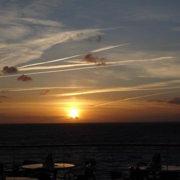 Sonnenuntergang aus der Oceans Bar