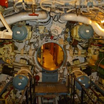 U-Boot U434 von Innen