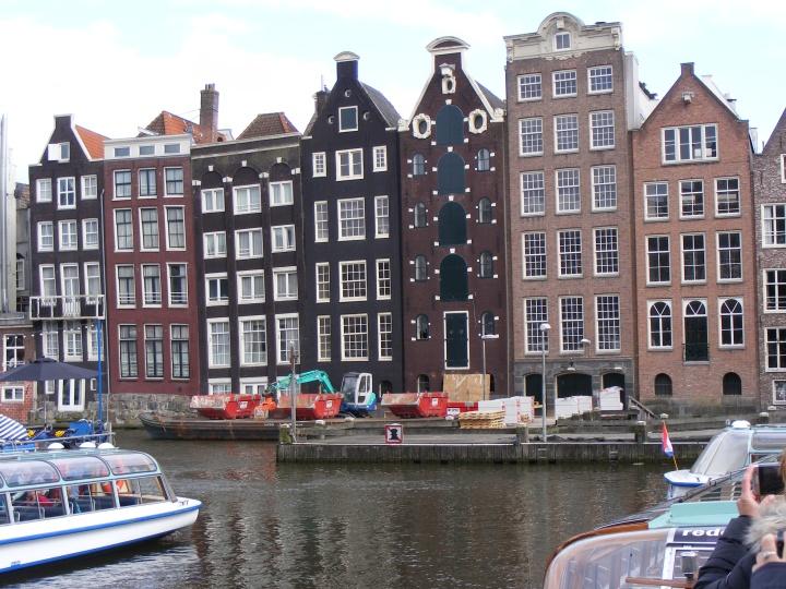 Amsterdam - Häuserfront