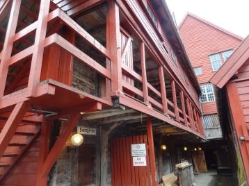 Bergen - Bryggen Innenbereich