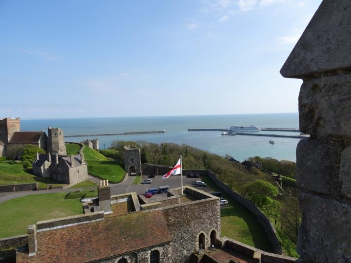 Dover - Blick auf den Hafen
