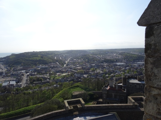 Dover - Blick auf die Stadt