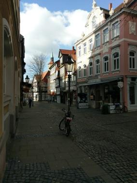 Kleine Häuser im Magniviertel