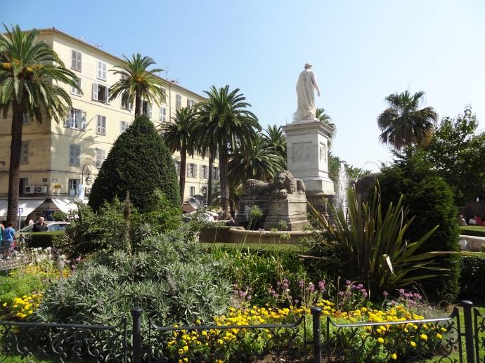 Korsika - Löwenbrunnen in Ajaccio