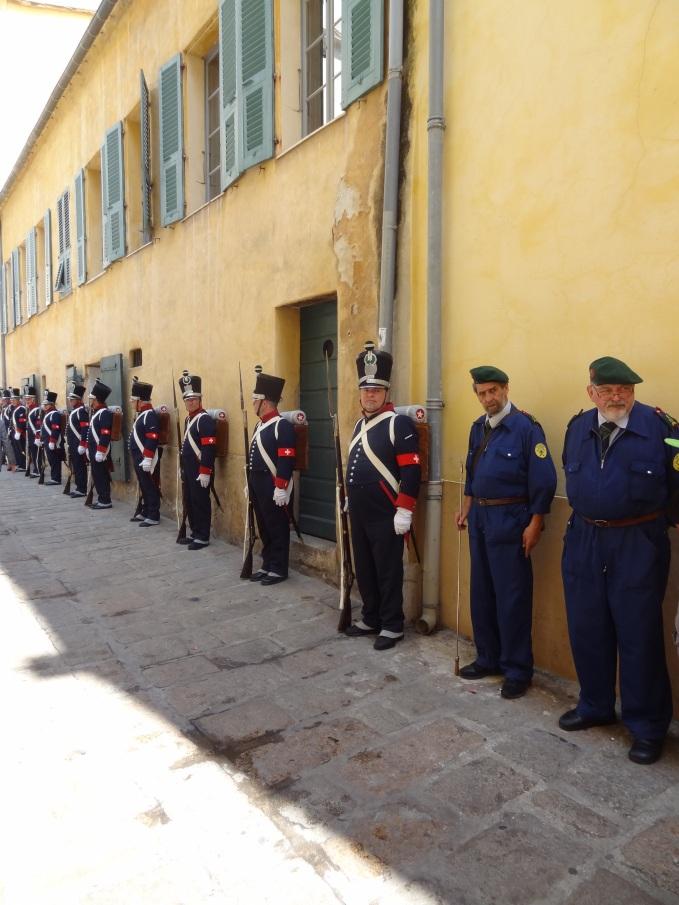 Korsika - Parade zu Napoleons Geburtstag