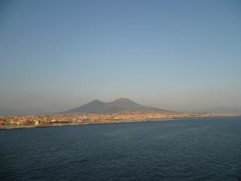 Neapel - Blick auf den Vesuv