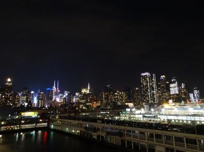 New York - Blick vom Schiff über Manhattan