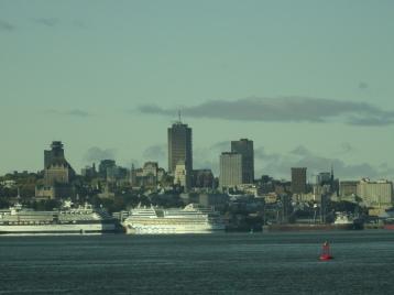 Quebec - Blick auf die Stadt