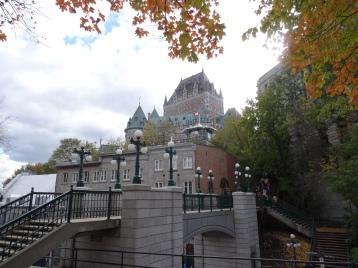 Quebec - Luxushotel Château Frontenac