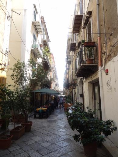 Sizilien - Gassen von Palermo