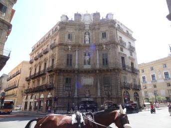 Sizilien-Palermo - Quattro Canti