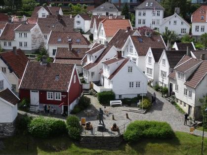 Stavanger - Blick auf die Altstadt