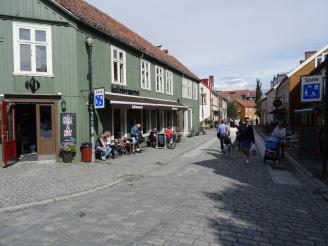 Trondheim - Cafe in der Altstadt