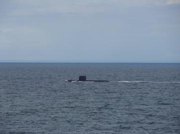 U-Boot auf dem Weg nach Göteborg