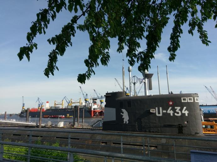 Hamburger Hafen - Museumsschiff U434