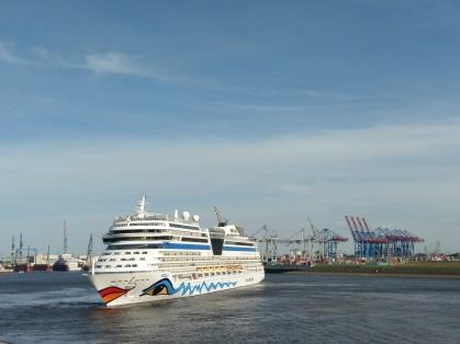 Hamburger Hafen - Wendemanöver