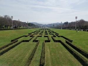 rhdr2. Tag Lissabon - Aussicht vom Parque Eduardo VII