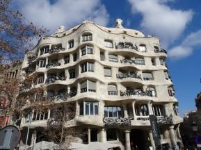 Barcelona - Gaudis Casa Mila