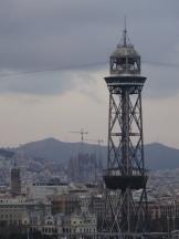 Barcelona - Rückblick beim Auslaufen