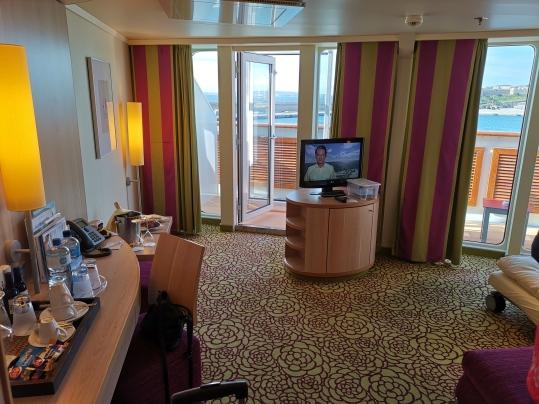 Ein Blick in eine Suite