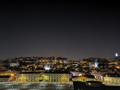 Lissabon - Die Altstadt am Abend