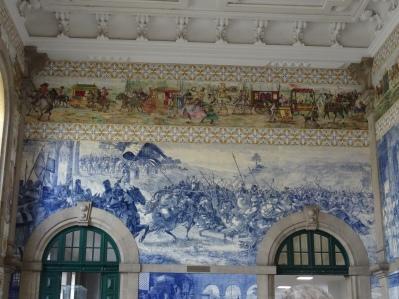 Porto - Einblick in die Bahnhofshalle
