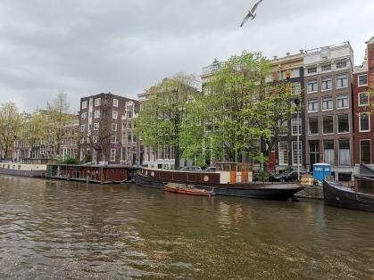 Amsterdam vom Wasser aus