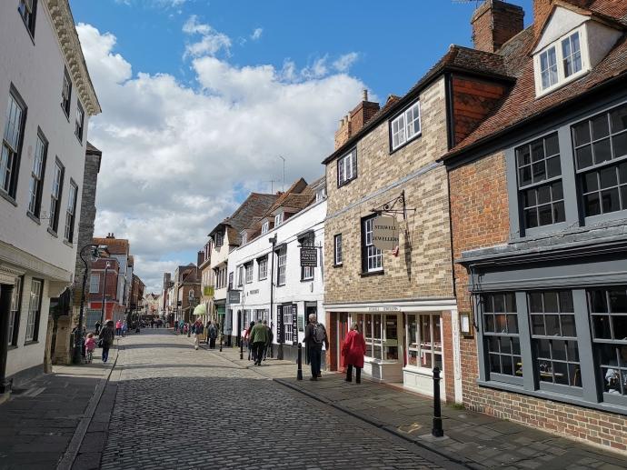 Canterburys gemütliche Straßen