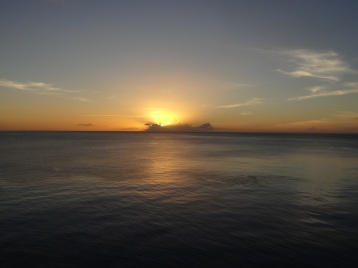 Dominica - Sonnenuntergang