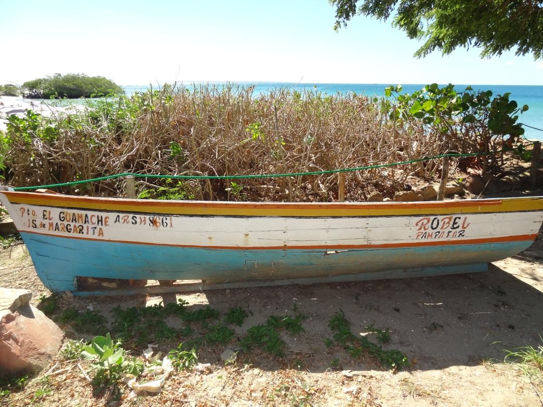 Isla Margarita - Ab ins Ruderboot