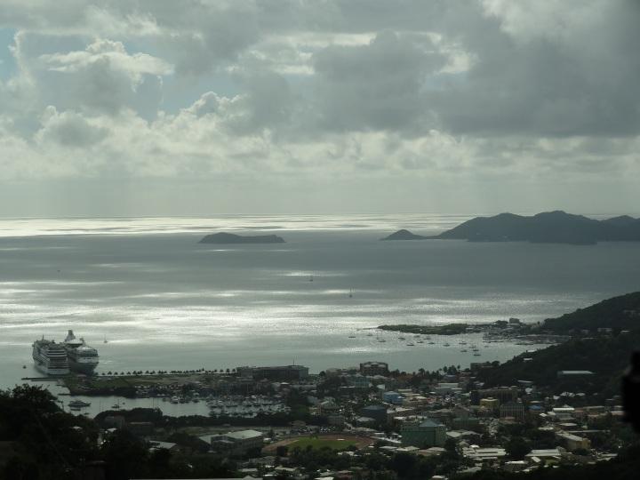 Tortola - Blick auf die Bucht