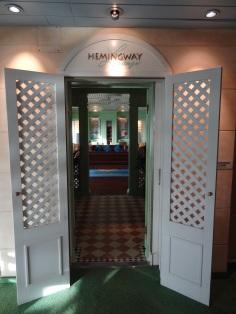 Hemmingway Lounge Eingang