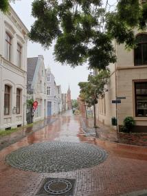 Leer - regnerische Altstadt