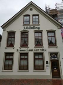 Leer - Stammhaus Bünting-Tee